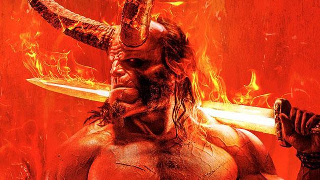 Il poster del reboot di Hellboy