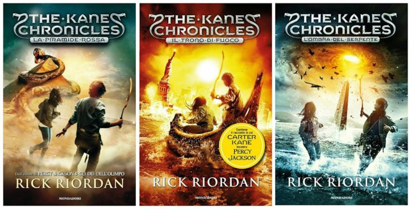 La trilogia di libri The Kane Chronicles