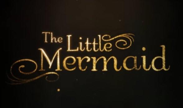 Logo del film The Little Mermaid del 2018