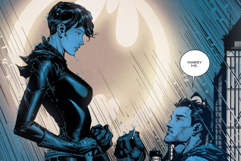 Bruce Wayne chiede la mano di Selina Kyle