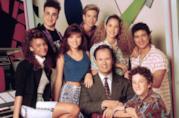 Il cast originale di Bayside School