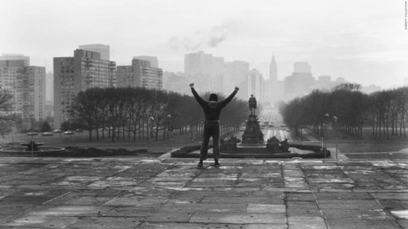 La leggendaria scena di allenamento di Rocky