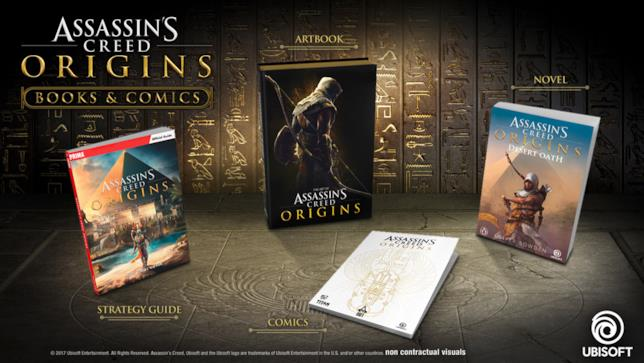 L'universo narrativo espanso di Assassin's Creed Origins