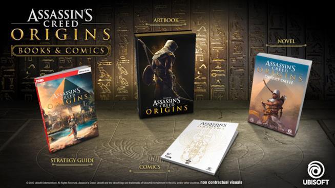 L'universo narrativo espanso di Assassin's Creed Origins