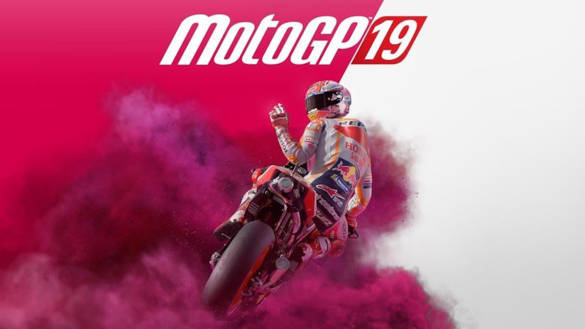 La copertina ufficiale di MotoGP 19
