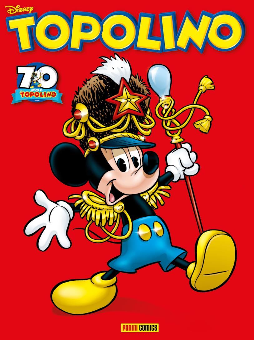 Topolino - copertina di Giorgio Cavazzano per i 70 anni di anniversario