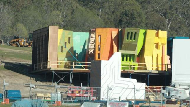 Edifici in costruzione sul set di Thor: Ragnarok