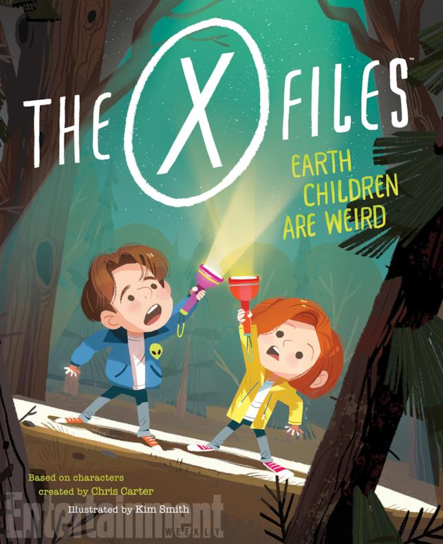 X-Files: Earth Children Are Weird, la copertina