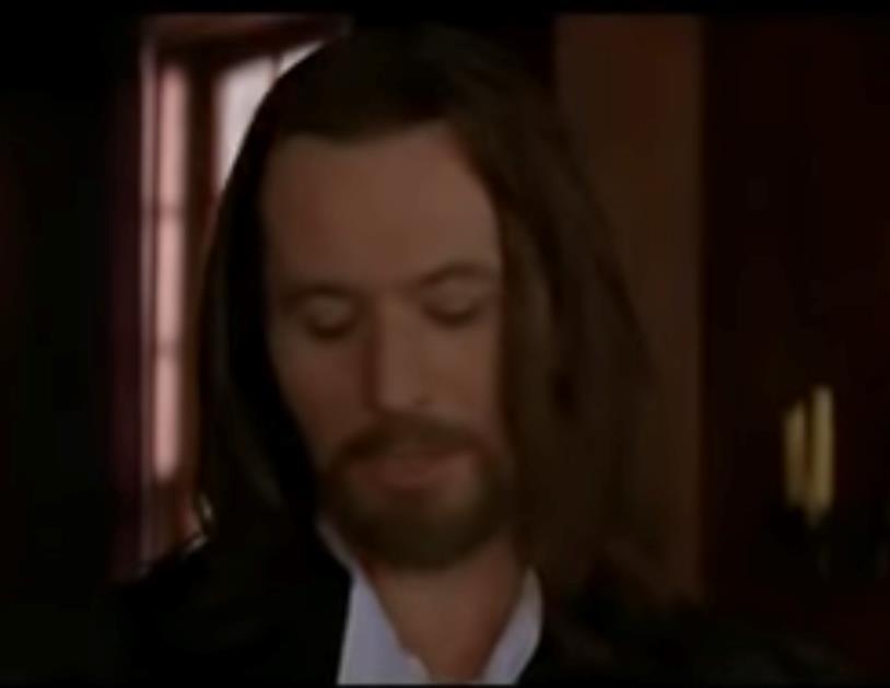 Il reverendo in una scena de La lettera scarlatta