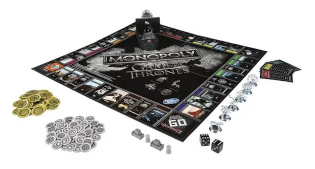 Il contenuto di Monopoly: Game of Thrones