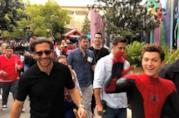 Una scena di Spider-Man: Far From Home