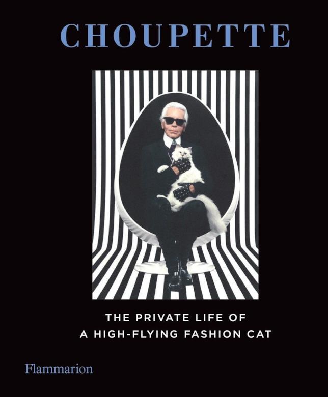 La copertina del libro su Choupette