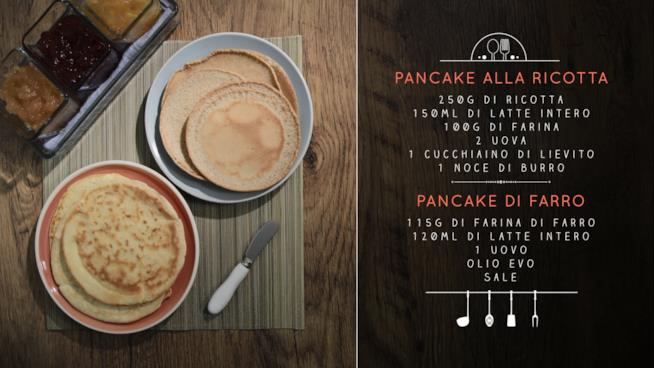 Ricetta Pancake alla ricotta