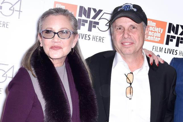 Carrie Fisher e Todd Fisher