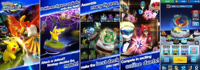 Screenshot ufficiali Pokémon Duel