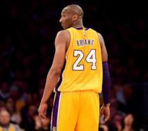 Kobe Bryant in una delle sue ultime partite