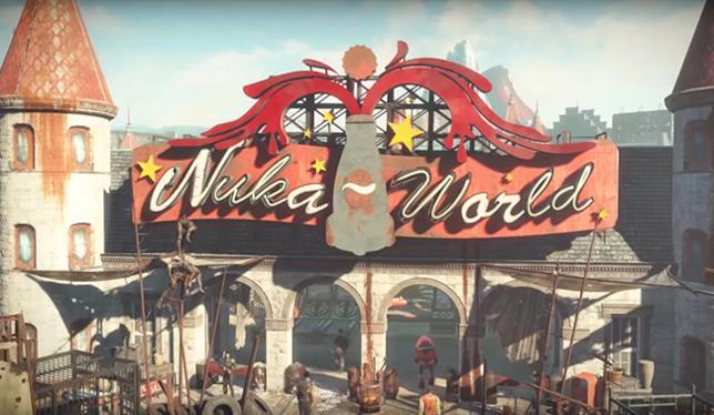 Panoramica di Nuka World in Fallout 4
