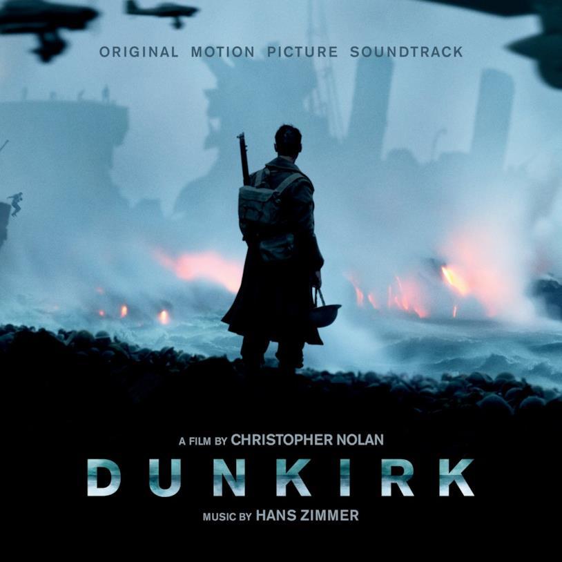 La cover della colonna sonora di Dunkirk