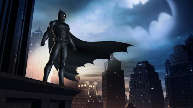 Il Cavaliere Oscuro nella Gotham City di Telltale Games