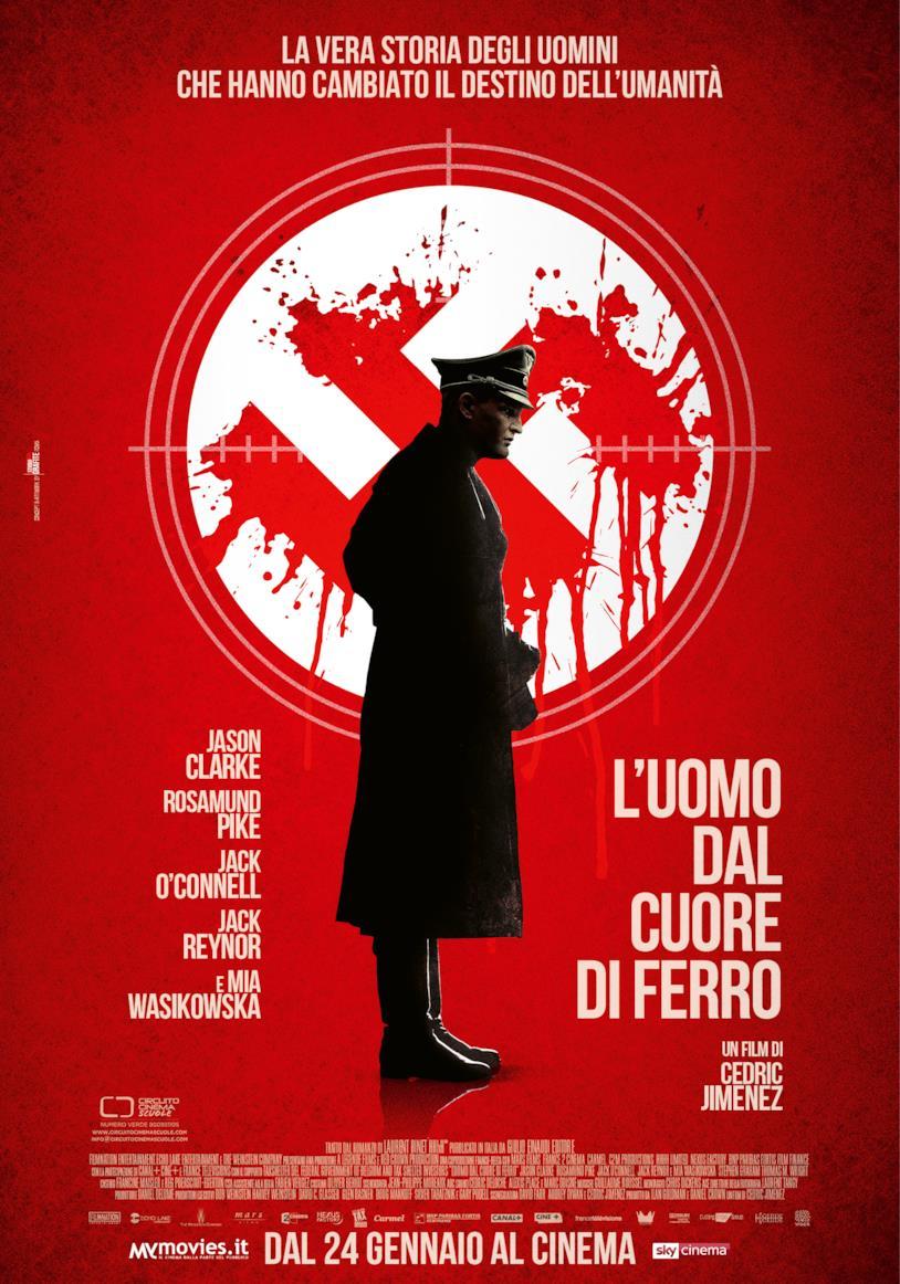 Il poster italiano de L'uomo dal cuore di ferro