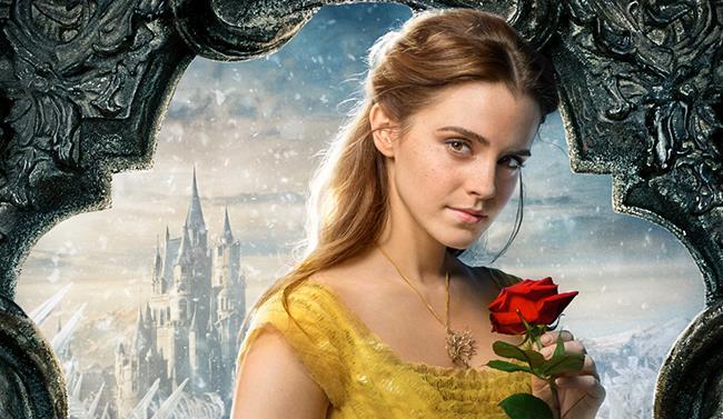 Emma Watson nel ruolo di Belle
