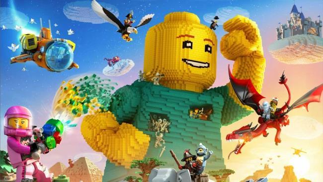 La copertina di Lego Worlds