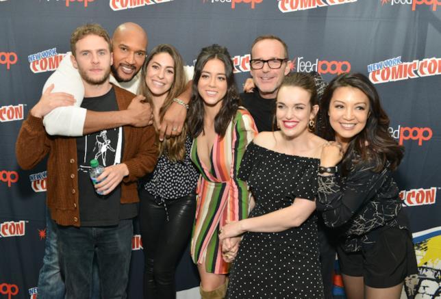 Il cast di Marvel's Agents of S.H.I.E.L.D. fuori dal set