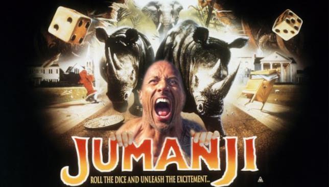The Rock nel sequel di Jumanji