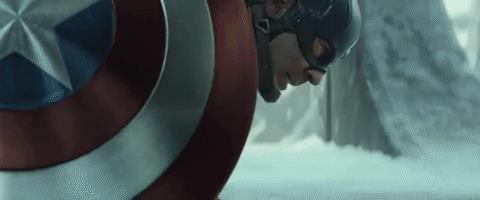 lo scontro tra Cap, Iron Man e Bucky