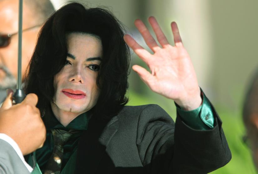 Michael Jackson saluti i fan