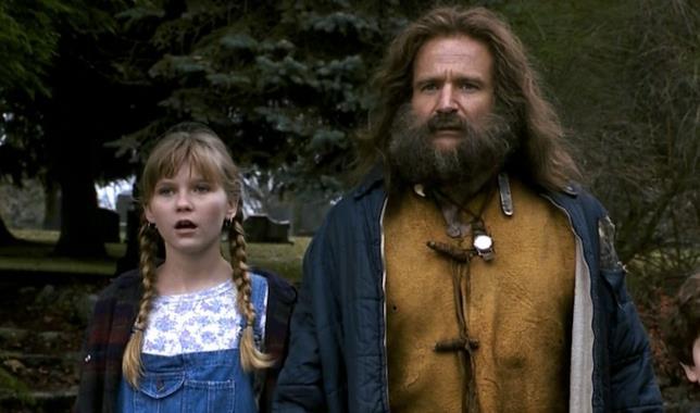 Robin Williams e Kirsten Dunst stupiti sul set di Jumanji