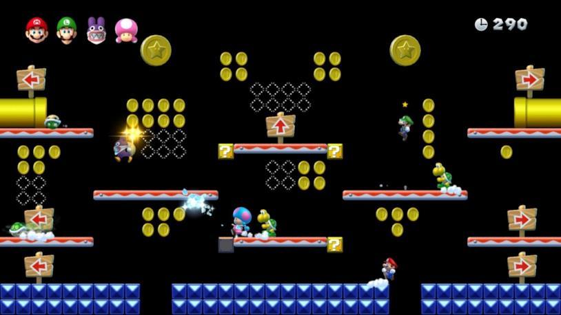 La Caccia alle Monete in New Super Mario Bros. U Deluxe