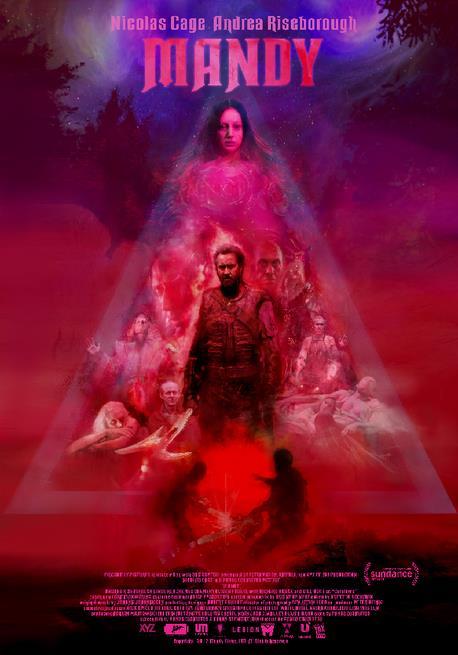Nicolas Cage nel poster ufficiale di Mandy