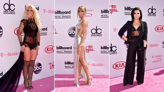 Britney Spears, Ciara e Demi Lovato ai Billboard Music Awards