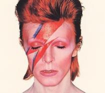 David Bowie sulla copertina di Aladdin Sane