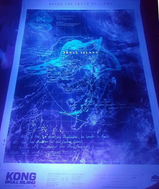 Poster Kong Skull Island inidizi