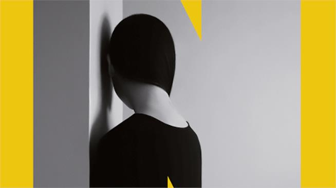 Un dettaglio di copertina di Una Geometria Perfetta