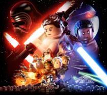 La cover ufficiale di LEGO Star Wars: Il Risveglio della Forza omaggia quella del film