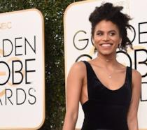Zazie Beetz sul red carpet ai Golden Globe
