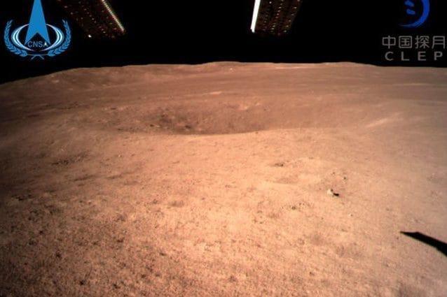 La prima immagine dal lato oscuro della Luna