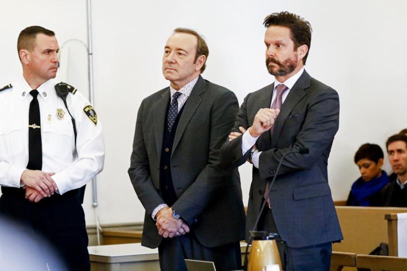 Kevin Spacey in udienza