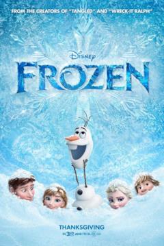 Olaf e i personaggi di Frozen sommersi nella neve nel teaser poster del film