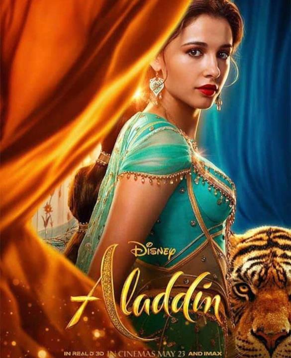 Il character poster di Jasmine