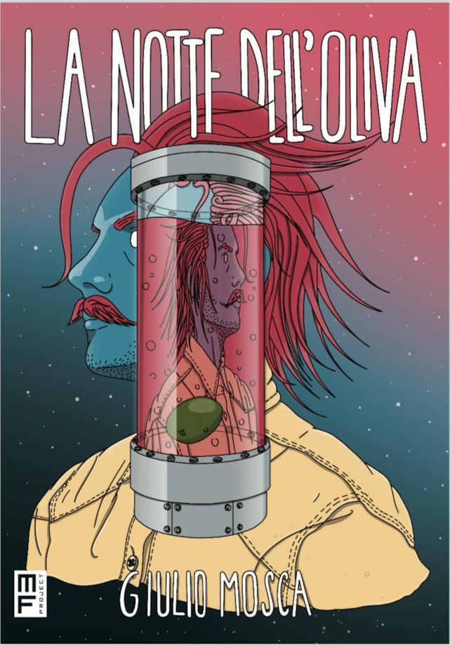 La copertina del fumetto dedicato a Il Baffo