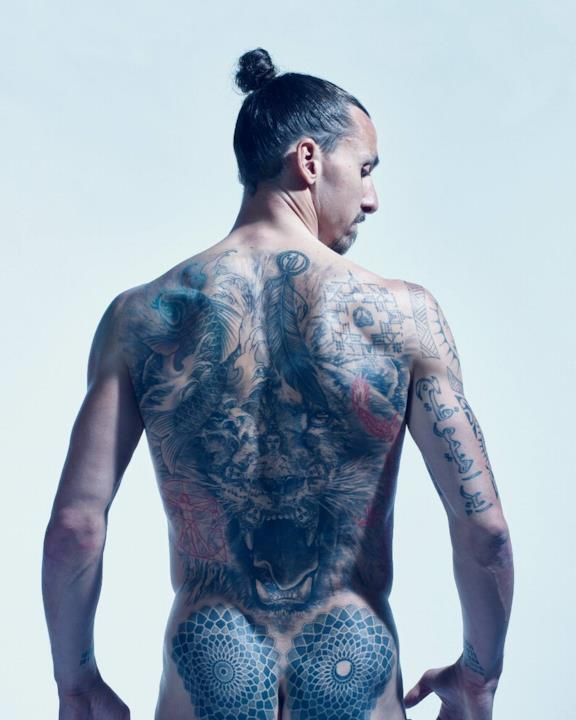 Zlatan Ibrahimovic in ESPN Body Issue 2018