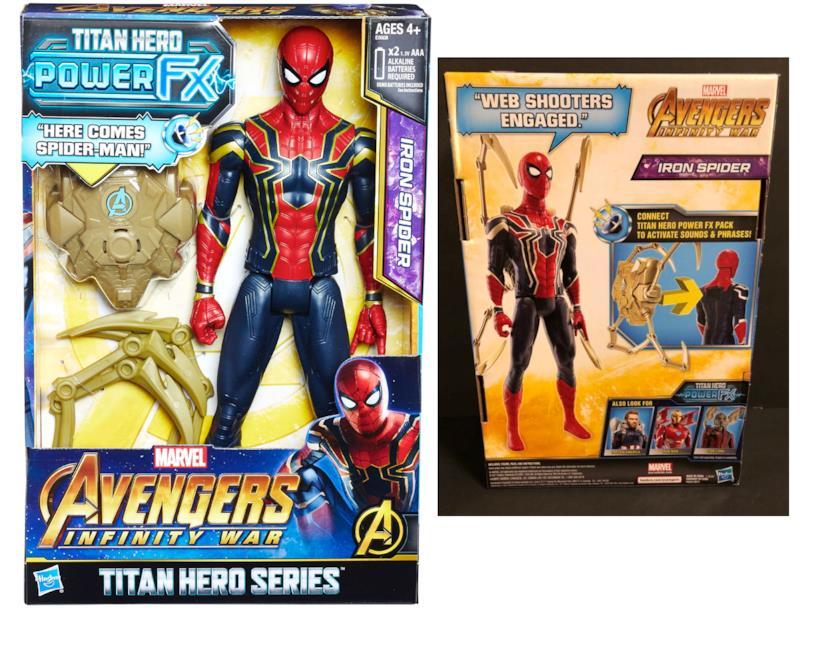 Ecco Iron Spider con braccia in più realizzata da Hasbro