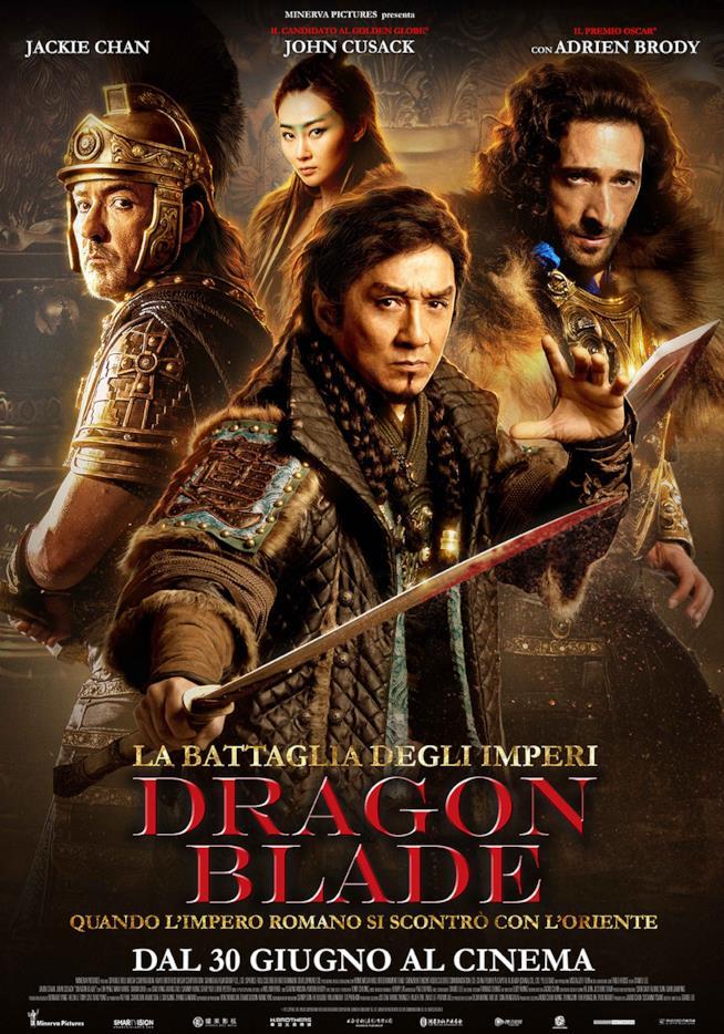 Locandina del film Dragon Blade