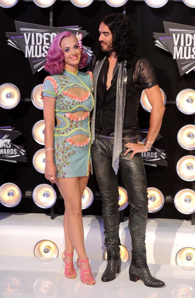 Russell Brand e Katy Perry a un evento ufficiale