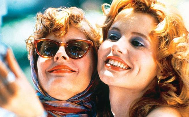 Susan Sarandon e Geena Davis protagoniste di Thelma e Louise