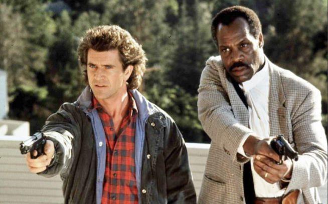 Danny Glover e Mel Gibson